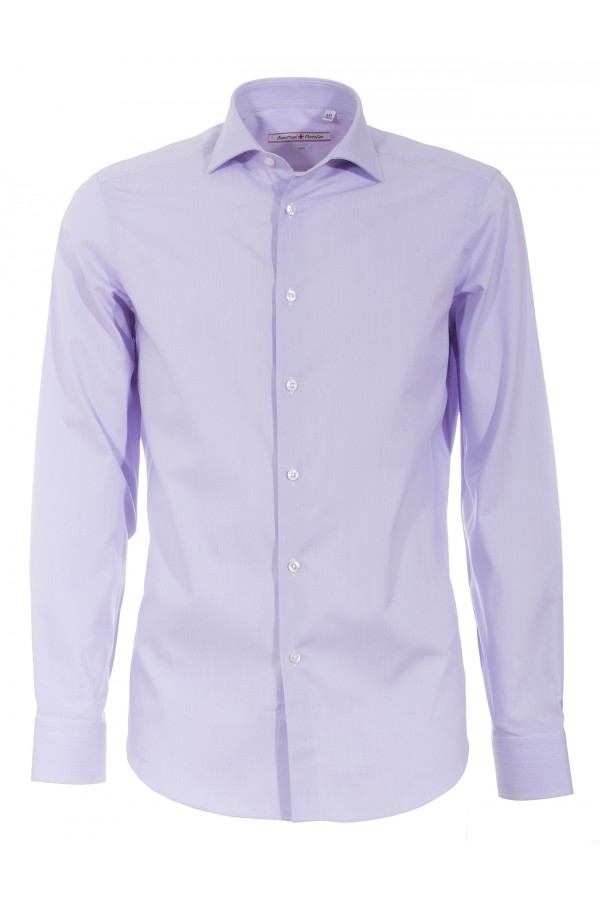 Shirt Canottieri Portofino 119 slim fit Man lilac