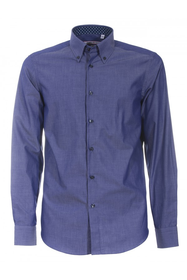 Shirt Canottieri Portofino 021 slim fit Man blue