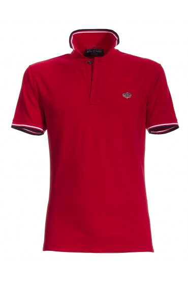 Polo Canottieri Portofino 100 Man red