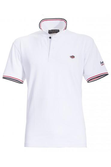 Polo Canottieri Portofino 100 Logo Man white