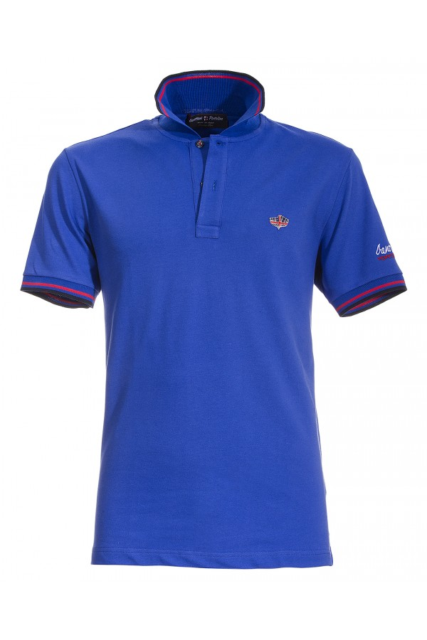 Polo Canottieri Portofino 100 Logo Man royal