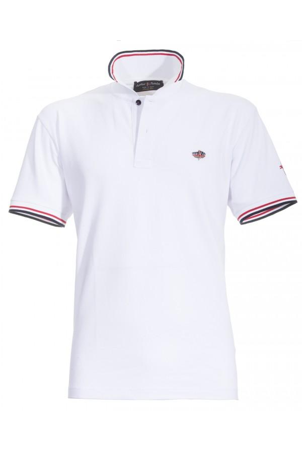 Polo Canottieri Portofino 100 Cross Man white