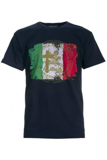 T-shirt Canottieri Portofino Italia Man blue