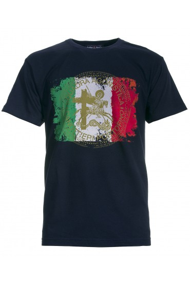 T-shirt Canottieri Portofino Italia Uomo blu