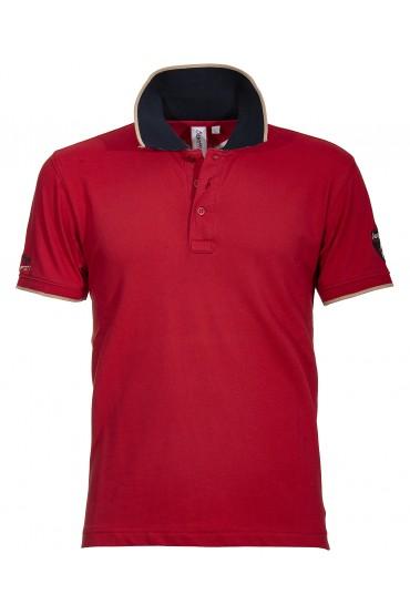 Polo Canottieri Portofino Lux Uomo rosso