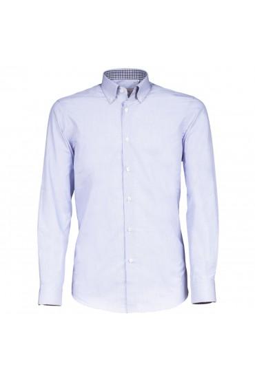 Camicia Canottieri Portofino D60 azzurro-blu rigato