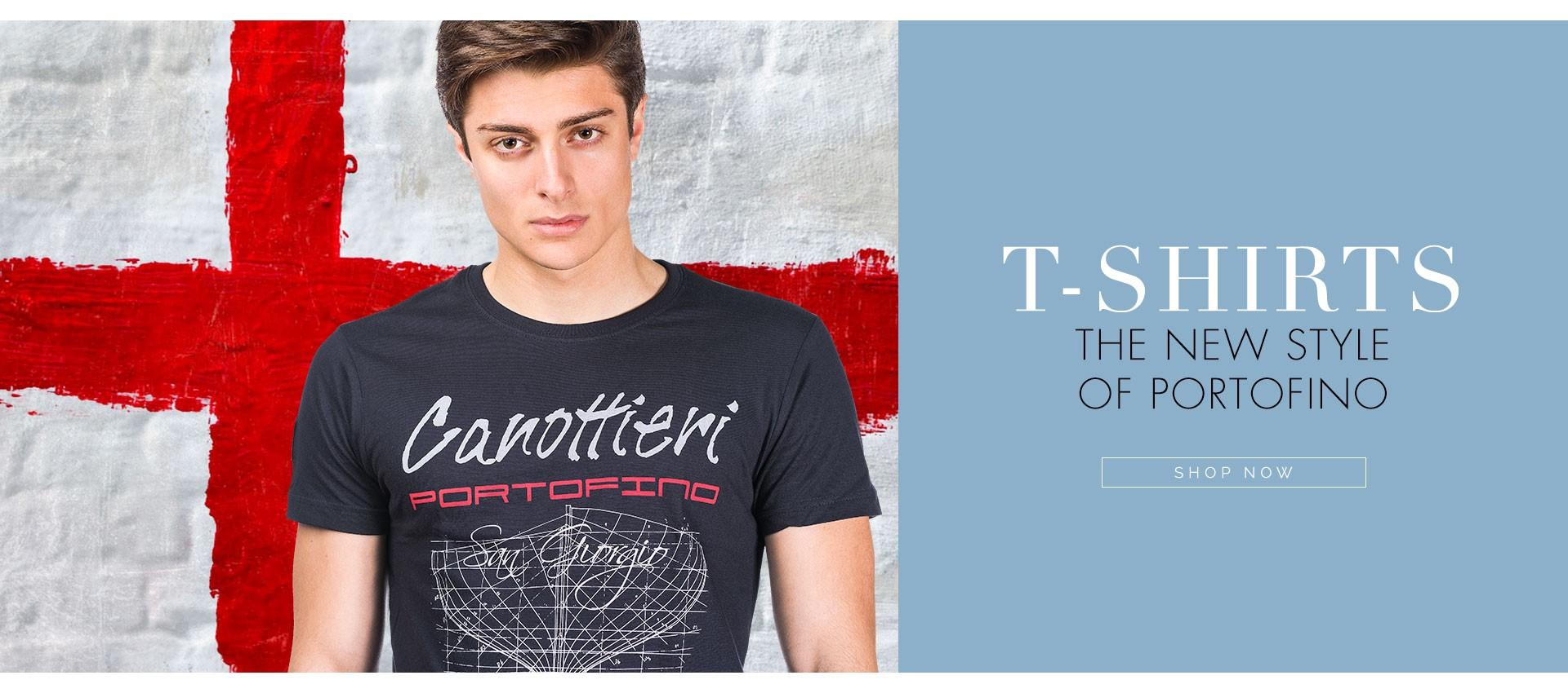 T-shirt Canottieri Portofino
