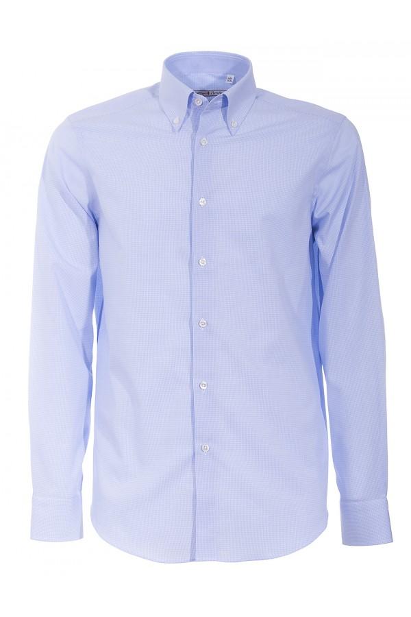 Shirt Canottieri Portofino 022 slim fit Man light blue