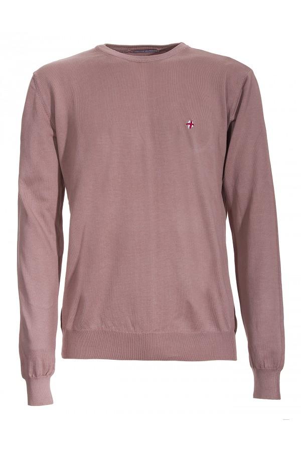 Maglia Canottieri Portofino Croce girocollo Uomo rosa