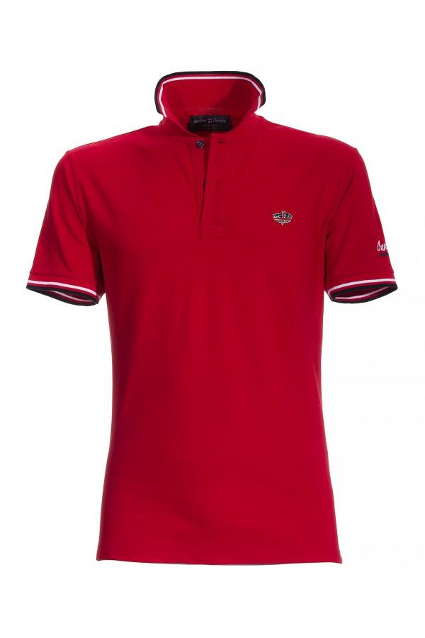 Polo Canottieri Portofino 100 Logo Man red