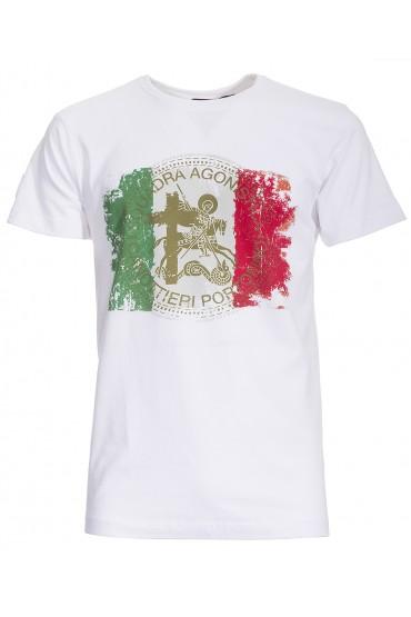 T-shirt Canottieri Portofino Italia Homme blanc