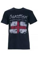 T-shirt Canottieri Portofino Genova Uomo blu