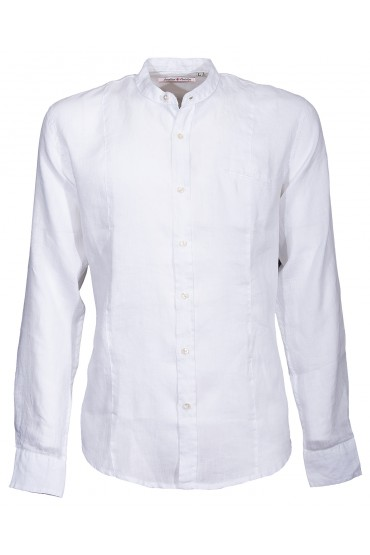 Shirt Canottieri Portofino Korean neck Man white