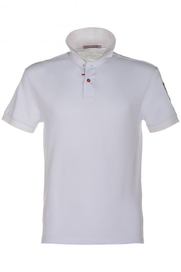 Polo Canottieri Portofino Replica white