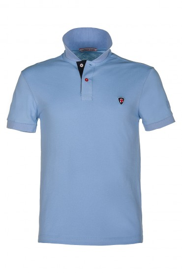 Polo Canottieri Portofino Regata light blue