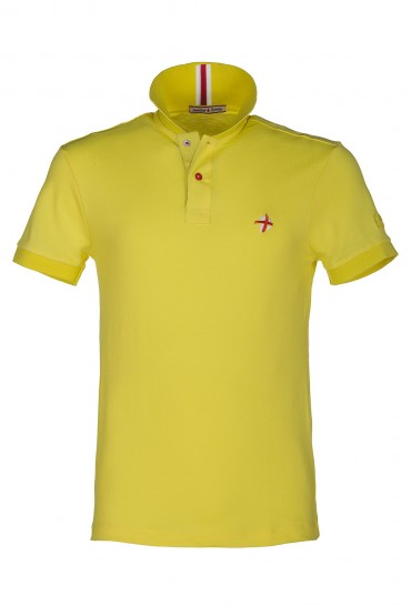 Polo Canottieri Portofino NewCoach jaune